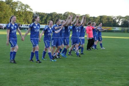 BW Schwege Vizepokalsieger 2014 Abschied von den Fans