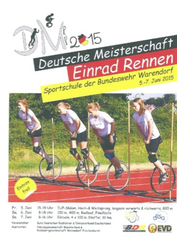 Programm DM Einrad BW Schwege