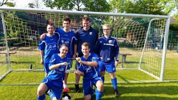 Sieger 8.Blaue Neun Cup BW Schwege