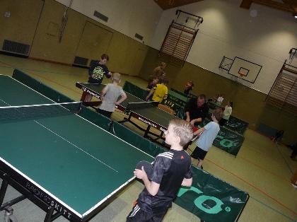 BW Schwege Tischtennis Minimeisterschaft