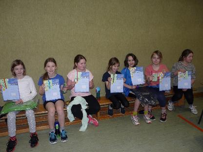 Tischtennis Minimeisterschaften 2016 der Mädchen BW Schwege