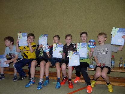 Tischtennis Minimeisterschaften 2016 der Jungen Blau Weiß Schwege