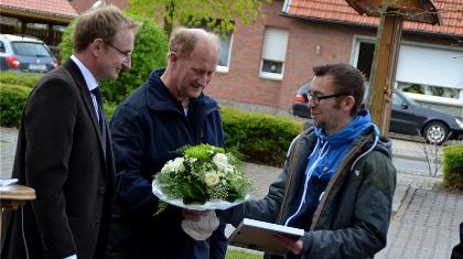 Ehrenamtilicher des Jahres Michael Brandmann von BW Schwege