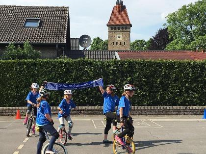 Sportfest BW Schwege Einrad-Kür