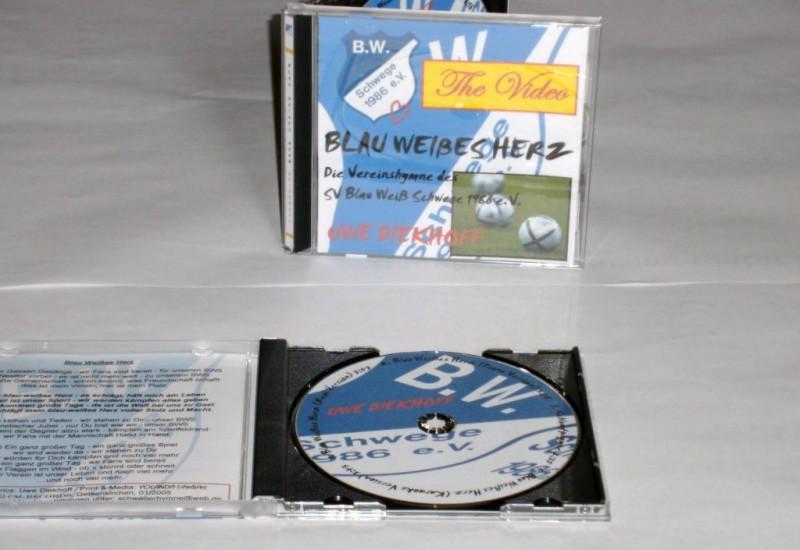 """BW Schwege CD/DVD Vereinslied """"Mein blau-weißes Herz"""""""