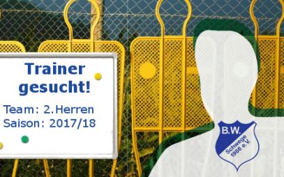 BW Schwege_Trainer_gesucht