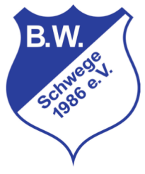 Vereinslogo 30 Jahre Blau Weiß Schwege